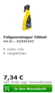 Kärcher Felgenreiniger 500ml